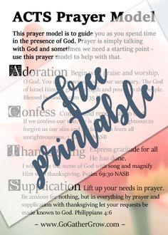 Prayer | ACTS Prayer