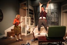 Photo Flash: First Look at Step Up Productions' BAREFOOT IN THE PARK Barefoot In The Park, Step Up, Southport, Theatre, It Cast, Concept, Theater