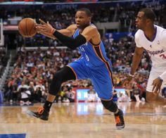 Photo Gallery: Thunder at Clippers - April 9, 2014 | THE OFFICIAL SITE OF THE OKLAHOMA CITY THUNDER - Russell Westbrook