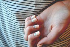 nail art via dreams + jeans
