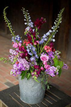 Flowers Design Arrangement Ikebana 65 Ideas For 2019 Blue Wedding Flowers, Fresh Flowers, Wild Flowers, Beautiful Flowers, Bouquet Flowers, Purple Wedding, Wedding Colors, Purple Flowers, Summer Flowers
