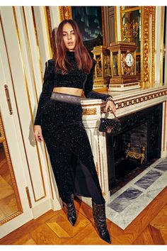 Balmain  #VogueRussia #prefall #fallwinter2018 #Balmain #VogueCollections