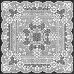 Filet Crochet Pattern: