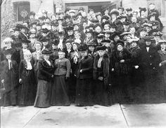 The New York State Woman Suffrage Convention, Buffalo, NY, ~~ {cwl} Buffalo New York, Great Women, Edwardian Fashion, Women In History, Wonderful Places, American History, City Photo, Suffrage Movement, Suffragettes