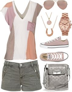 """Casual Summer Outfit"" by emp82 on Polyvore #summer #outfit #womens"