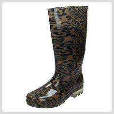 Spot On ,  Damen Gummistiefel , - Tan Leopard - Größe: 40 - Stiefel für frauen (*Partner-Link)