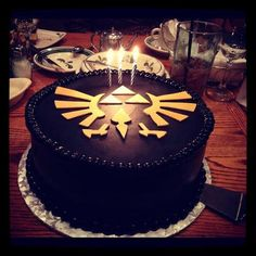 Legend of Zelda cake love it! I want one!!!
