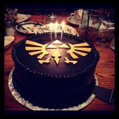 Legend of Zelda cake love it! I want one!!!