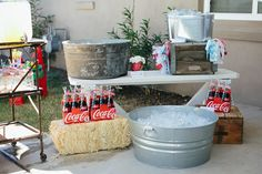 We Heart Parties: Vintage Country Fair First Birthday