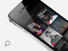 Pokke Conversations App   Mobile App User Interface Design