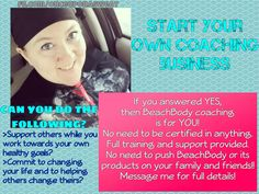 Have you ever wanted to fire your boss and start living life by design?  Be able to travel (sometimes for FREE)?  Be able to stay home with your kids?  Coaching can get you there and so much more!!!