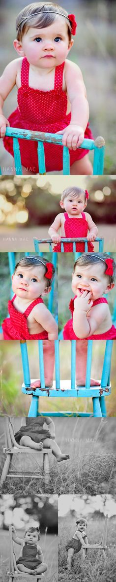 Gah, love the red and turquoise.  Doing this for Mia's 1 year photos.