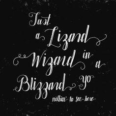 Just a lizard wizard in a blizzard yo  96/365  #thedailytype #dailytype #handdrawntype #handlettering #lettering #thedesigntip #typografi #type #typography #typographie #handtype #customtype #friendsoftype #handrawntype #goodtype #typespire #typographyinspired #typeverything #typelove #welovetype #typedesign #handmadefont #typism #calligraphy #skillshare #script #calligritype #moderncalligraphy #lizardwizard #robotchicken