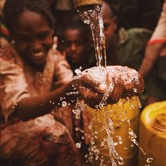 In Ethiopia, only 33% of people have access to clean, safe water. We won't stop until that number is 100%.