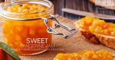 Tangerine Jam Recipe with Ginger and Vanilla for a Sweet Spread