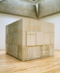 Rachel Whiteread - Untitled (Room) (1993)