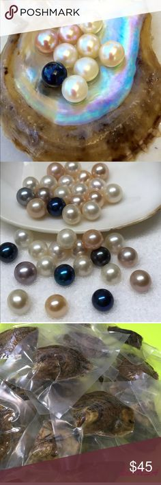 Unique Gift Idea Enjoy your find by opening to find the treasure inside. Perhaps the best loved gems of all time, Akoya Oyster Large 6mm-9mm Round Pearls. Akoya Jewelry