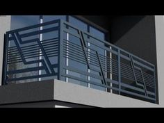 BALCONY_ IRON RAILING DESIGN modern 2020 Balcony Glass Design, Window Grill Design Modern, Balcony Grill Design, Grill Door Design, Balcony Railing Design, Glass Balcony Railing, Balcony Decoration, Balcony Ideas, Steel Railing Design
