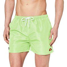 Dem Slip Badeshort. Grün Shorts Style, Ellesse, Trunks, Gym Shorts Womens, Swimming, Swimwear, Fashion, Swim Trunks, Shopping