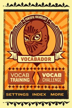Vocabulary and Lucha Libre? Who knew! What an awesome App!