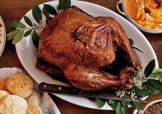 Cajun-Spiced Turkey   To Go with Recipe:  http://www.bonappetit.com/recipes/2011/11/cajun-spice-mix    http://www.bonappetit.com/recipes/2011/11/crawfish-gravy
