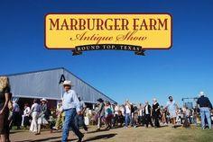 Marburger Farm flea market in Roundtop Texas