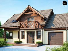Проекта дома Z33 - фото 1