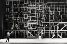 Example of Repetition -------------- Mirjam Grote Gansey / Stage design / Woutertje Pieterse Set Design Theatre, Stage Design, Repetition Examples, Conception Scénique, Ballet Russe, Church Stage, Stage Set, Scenic Design, Black N White Images