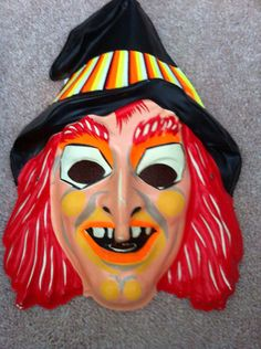 Sid and Marty Krofft Witchiepoo plastic Halloween mask Old Halloween Costumes, Retro Halloween, Halloween Items, Halloween Pictures, Halloween Horror, Halloween Masks, Holidays Halloween, Halloween Crafts, Halloween Decorations