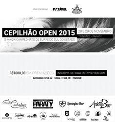 Cepilhão Open 2015 | Surfe, saúde, ecologia, e boa música. Inscreva-se agora nas categorias Pro-AM, Local, Sub-14 e Feminino. acesse: www.potavelprod.com. #exposição #evento #festival #música #fotografia #arte #cultura #turismo #VisiteParaty #TurismoParaty #Paraty #PousadaDoCareca #esporte #Cepilhão #CepilhãoOpen #CepilhãoOpen2015 #surf