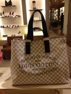 My New LV Beach Bag! Excited for summer