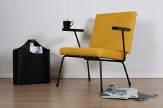 stoel en bank restyling, enkhuizen, meubelstoffeerder, herstofferen, nieuwe bekleding, design stoel, gispen, stof de ploeg, albi stof