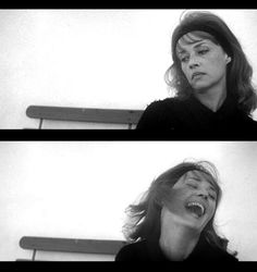 Jeanne Moreau in Jules & Jim (1962, dir. Francois Truffaut)