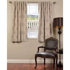 @Overstock - Jaipur Beige 63-inch Blackout Curtain Panel - Add a beautiful accent to an window with the Jaipur Beige 63-inch Blackout Curtain Panel. This blackout panel features an attractive pattern and is ideal for keeping windows insulated.   http://www.overstock.com/Home-Garden/Jaipur-Beige-63-inch-Blackout-Curtain-Panel/9803957/product.html?CID=214117 $59.99