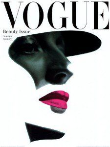 Vintage Vogue Cover 1945 Beauty Issue giclee prints and posters canvas framed unframed Vogue Magazine Covers, Fashion Magazine Cover, Fashion Cover, Magazine Cover Design, Fashion Art, High Fashion, Trendy Fashion, Editorial Design Magazine, Magazine Design Inspiration