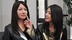 The new staff of Japan's Henn-na Hotel may look like this Geminoid F android, developed by Osaka University and ATR.