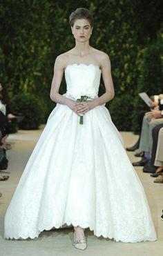 Audrina Carolina Herrera Spring Bride Collection 2014