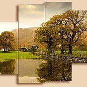Картины и панно ручной работы. Ярмарка Мастеров - ручная работа Британский пейзаж. Handmade.