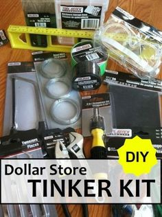 DIY Dollar Store Tinker Kit
