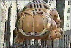 1984 Macy Parade Thanksgiving Garfield float - I love the parade!