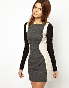 Image 1 of Y.A.S Wera Panelled Dress