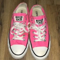 b8370c2e888a Shop Women s Converse Pink size Sneakers at a discounted price at Poshmark.