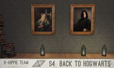Back to Hogwarts 7 Paintings vol 1 at K-hippie • Sims 4 Updates