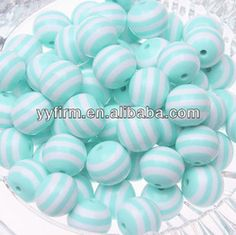 Lovely New Mint Green 20mm Resin Stripe Beads.wholesale Price Aaa Quality Jewelry Round Chunky Necklace Striped Resin Beadscb-02 - Buy Mint Green Stripe Beads,Resin Chunky Beads,20mm Resin Stripe Beads Product on Alibaba.com