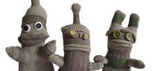 Lovely Sock men! Alan Pitchfork, Percy Grower and Bob Flowerpot ♥