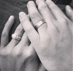 Kara and Mark, featuring rings by #furrerjacot and #kirkkara