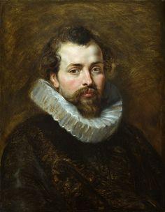 Портрет Филиппа Рубенса, брата художника (1610-1611) (68 х 53) (Детройт, Институт искусств). Peter Paul Rubens
