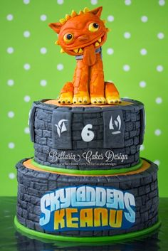 decoration gateau skylanders