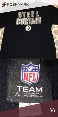 NFL Steelers Steel Curtain Tshirt