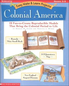 Colonial America (Easy Make & Learn Projects) | Main photo (Cover)